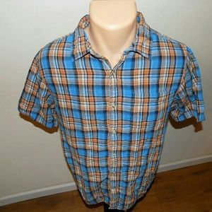The North Face | Plaid Button Down Shirt Men's M
